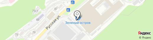 Сеньор Капучини на карте Владивостока