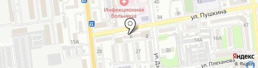 Продуктовый магазин на карте Уссурийска
