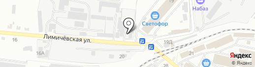 Торговый дизайн на карте Уссурийска