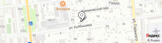 Уссурийское добровольное пожарное общество, ЗАО на карте Уссурийска