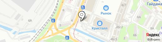 На Спортивке на карте Владивостока
