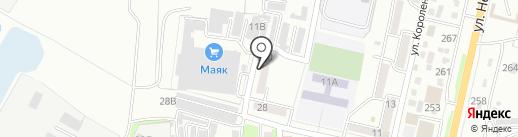 Исток на карте Уссурийска
