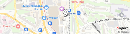 Магазин профессиональной косметики для волос на карте Владивостока