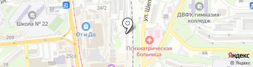 ПримАвтоПрокат на карте Владивостока