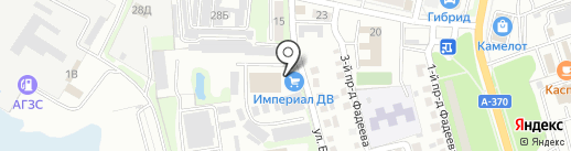 Империал ДВ на карте Уссурийска