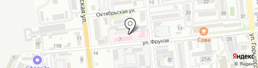 Краевой противотуберкулезный диспансер №1, ГБУЗ на карте Уссурийска