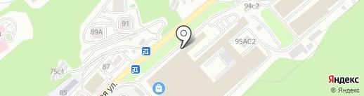 Оптовый склад-магазин на карте Владивостока