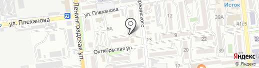 Дзержинец, ТСЖ на карте Уссурийска