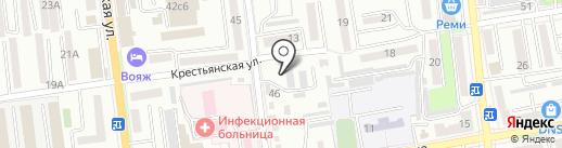 Приморская противочумная станция, ФКУЗ на карте Уссурийска