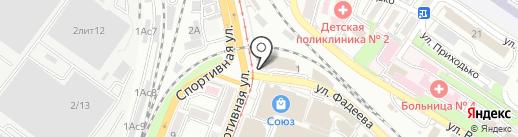 O`STIN на карте Владивостока