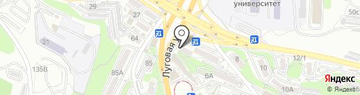 Ломбард Альфа Кредит на карте Владивостока