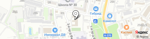Детский дом г. Уссурийска на карте Уссурийска