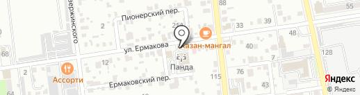 Аристей на карте Уссурийска