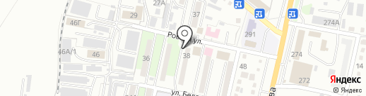 НиваХлеб на карте Уссурийска