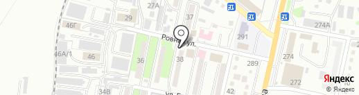 Салон красоты на карте Уссурийска