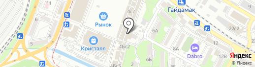 Берлога Здоровья на карте Владивостока