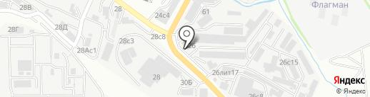 Лаверна ДВ на карте Владивостока