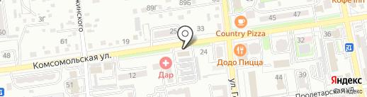 Швейные дела на карте Уссурийска