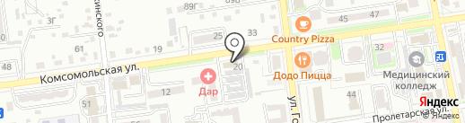 Центр автоматизации на карте Уссурийска