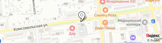 BARHAT на карте Уссурийска