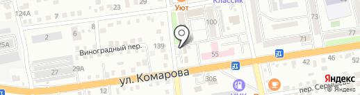 Тигренок на карте Уссурийска