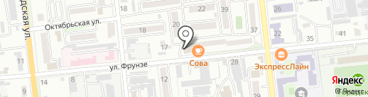 Салон-магазин головных уборов на карте Уссурийска