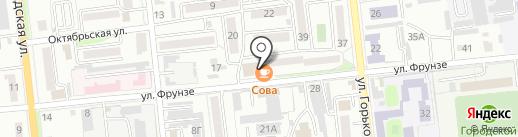 Продуктовый магазин №77 на карте Уссурийска