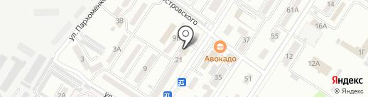 Отделение почтовой связи №11 на карте Уссурийска