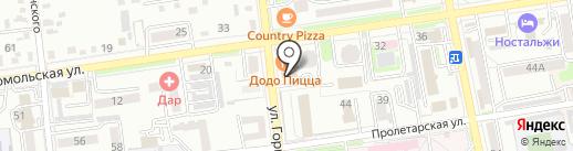 Артвик на карте Уссурийска