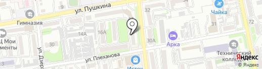 Городская справочная по аренде квартир на карте Уссурийска