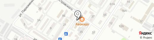 Семейная на карте Уссурийска