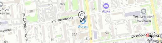 Мастерская по изготовлению ключей на карте Уссурийска