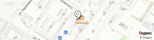Банкомат, Дальневосточный банк Сбербанка России на карте Уссурийска
