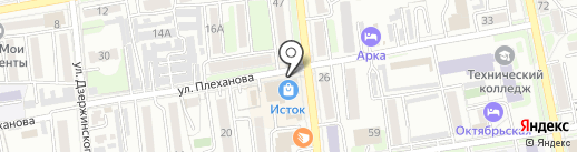 Севан на карте Уссурийска