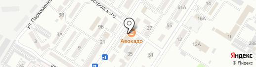 La Pizza на карте Уссурийска