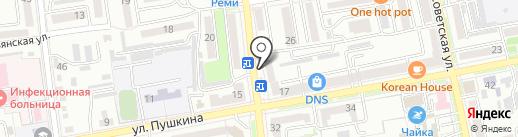 РОБОтрек на карте Уссурийска