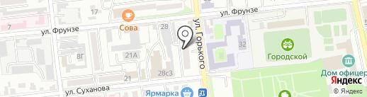 Серена плюс на карте Уссурийска
