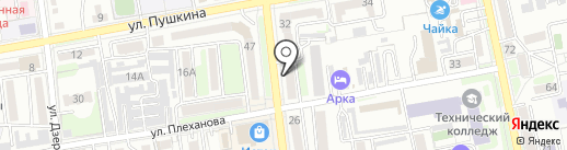 Пивчик на карте Уссурийска