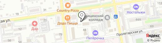 Тоник на карте Уссурийска