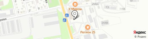 PodkrePizza на карте Уссурийска