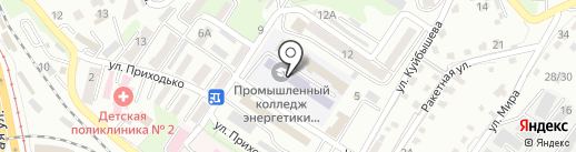 АВТОЭНЕРГО на карте Владивостока