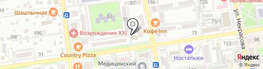 Мир тканей на карте Уссурийска