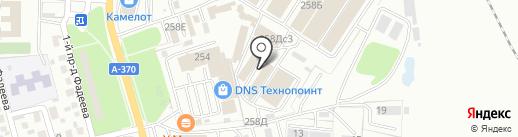 Трикотаж на карте Уссурийска