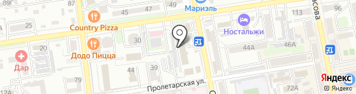 Радио Европа Плюс Уссурийск на карте Уссурийска