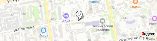 CopyPrint на карте Уссурийска