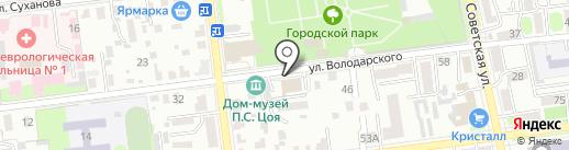 МОРОЗКО на карте Уссурийска