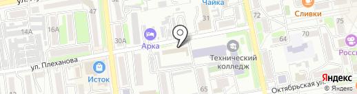 Софт Мануфактура на карте Уссурийска