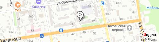 Он и она на карте Уссурийска