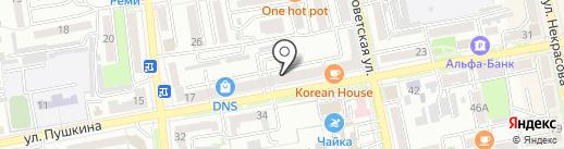 Винлаб на карте Уссурийска