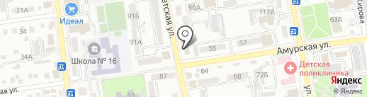 ЖЭУ-6 на карте Уссурийска